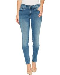 Mavi Jeans - Adriana Mid-rise Super Skinny In Light Foggy Blue Tribeca - Lyst