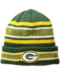 6a98bc788b5 KTZ - Green Bay Packers Vintage Stripe - Lyst