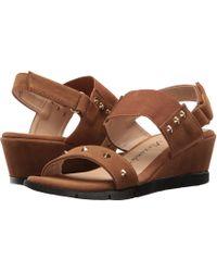 08c5ae2ae23 Lyst - Athena Alexander Gaylenn Slip-on Wedge Sandals in Black