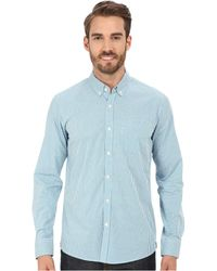 Kenneth Cole - Long Sleeve Slim Button Down Promo - Lyst