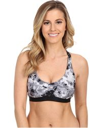 Under Armour - Heatgear® Alpha Light Printed Bra - Lyst