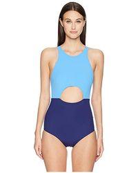 5f0ab222f02 Flagpole Swim - Vera One-piece (shore/navy) Swimsuits One Piece -