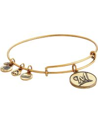 ALEX AND ANI - Mlb® Milwaukee Brewers Charm Bangle - Lyst