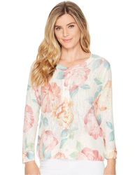 Nally & Millie - Floral Cardigan - Lyst