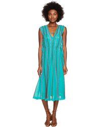 M Missoni - Vertical Triangle Knit Dress - Lyst