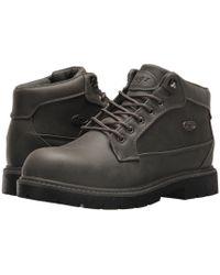 Lugz - Mantle Mid (asphalt/dark Asphalt/black) Men's Shoes - Lyst