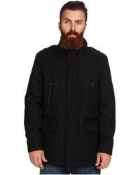 Cole Haan - Wool Melton Carcoat - Lyst