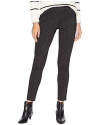 Jag Jeans - Marla Pull-on Denim Leggings (grey Glen Plaid) Jeans - Lyst