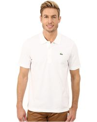 Lacoste | Sport Golf Short Sleeve Super Light Stretch Solid Polo | Lyst