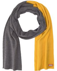 HUNTER - Original Moustache Scarf Mer Wool - Lyst