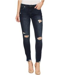 Hilfiger denim skinny jeans met coating