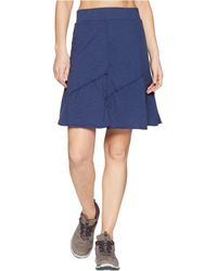 Mod-o-doc - Slub Jersey Asymmetrical Seamed Skirt - Lyst