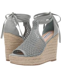 244c3fdba7 Steve Madden Sure Wedge Sandal (blush) Wedge Shoes in Pink - Save 51 ...