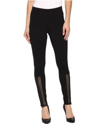 Hue | Laser Cut Panels Blackout Leggings | Lyst