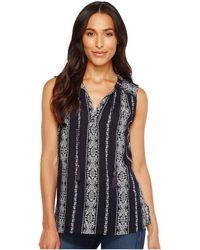 Dylan By True Grit - Vintage Vines Sleeveless Washed Tunic - Lyst