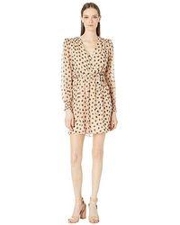 f82ba6b60f72 Kate Spade - Heart It Heartbeat Silk Mini Dress (roasted Peanut) Dress -  Lyst
