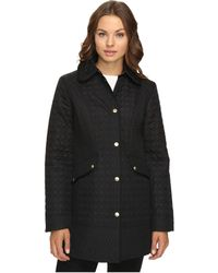 Ellen Tracy - Quilted Barn Coat - Lyst