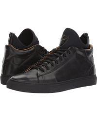 A.Testoni - Mid Cut Sneaker - Lyst