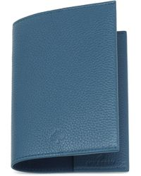 Mulberry Passport Cover blue - Lyst