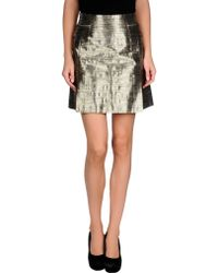McQ by Alexander McQueen Mini Skirt - Lyst
