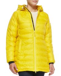 Canada Goose Camp Hooded Midlength Puffer Jacket - Lyst