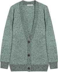 T By Alexander Wang Wool and Cashmere-blend Cardigan - Lyst