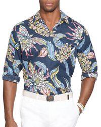 Polo Ralph Lauren Tropical Linen Shirt - Lyst