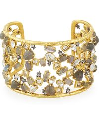Alexis Bittar - Elements Confetti Cuff With Spiked Crystals - Lyst