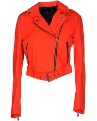 Muubaa Jacket red - Lyst