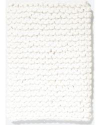 Zara Thick Knit Snood - Lyst