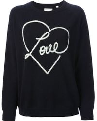 Chinti And Parker Love Sweater - Lyst