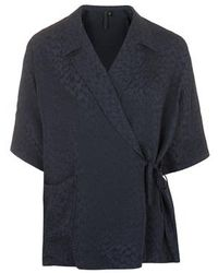 Topshop Jacquard Takashi Top By Boutique blue - Lyst