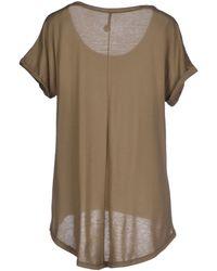 077 - T-shirt - Lyst