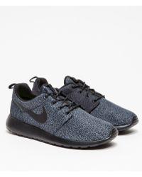 Nike Rosherun Print in Black - Lyst