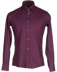 Daniele Alessandrini | purple Shirt | Lyst