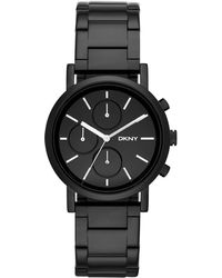 DKNY Soho Stainless Steel Chronograph Watch - Lyst