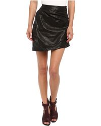 Vivienne Westwood Anglomania Leather Isolation Skirt - Lyst