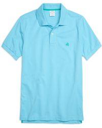 Brooks Brothers Golden Fleece® Slim Fit Performance Polo Shirt - Lyst