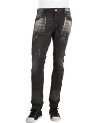 Rogue State - Denim Joggers - Lyst