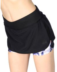 Adidas Mini Skirt black - Lyst