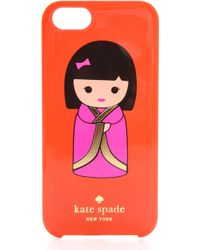 Kate Spade Hello Tokyo Iphone 5 5s Case  - Lyst