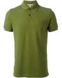 Burberry Brit Check Placket Polo Shirt - Lyst