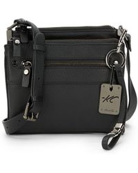 Kenneth Cole - Morningside Leather Crossbody Bag - Lyst