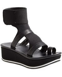 Max Studio | 'quince' Wedge Platform Ankle Strap Sandal | Lyst