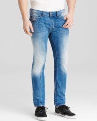 Diesel Jeans - Thavar Super Slim Fit In Blue - Lyst