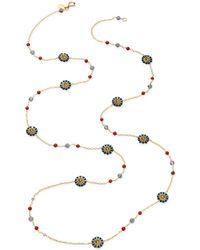 Miguel Ases - Labradorite and Quartz Necklace - Lyst