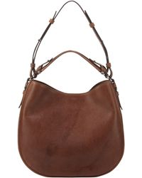 Givenchy | Obsedia Medium Zanzi Hobo Bag Medium Brown | Lyst