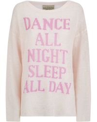 Wildfox Dance All Night Sleep All Day Sweater - Lyst