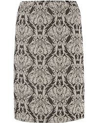 Therapy Jacquard Pencil Skirt - Lyst