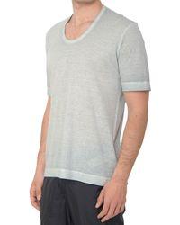 Diesel Black Gold Tetton-T-Shirt gray - Lyst